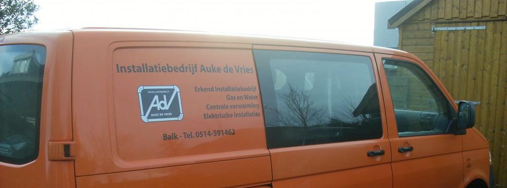 Installatiebedrijf Auke de Vries