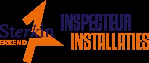 Sterkin erkend inspecteur installaties